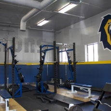 Gym Wall Vinyl For Vanguard University