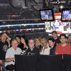 CGS at the LA Kings Hockey Game!