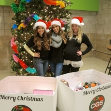 CGS Santa's Helpers 2014