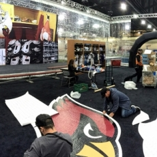 Super Bowl Panorama Floor