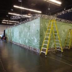 D23 banner wrap