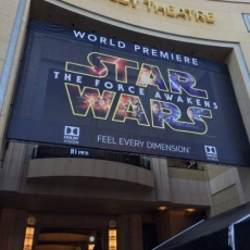 Star Wars Premiere at Dolby Theatre