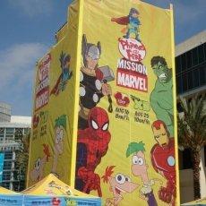 Marvel-Yellow-Backdrop