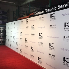 Kinetic Rexframe press wall