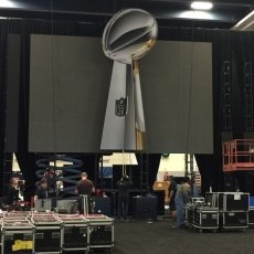 NFL Experience 2016: Lombardi Trophy