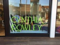 Cynthia RowleyWindow Graphic