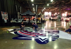 NHL All Star Game Floor Vinyl