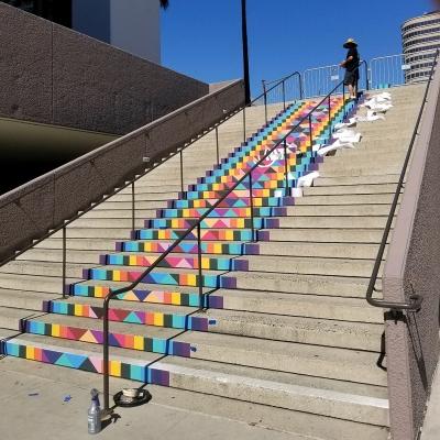 Vinyl-Stairs