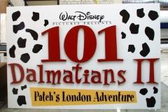 101 Dalmatians Dimensional Signage