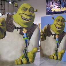 Shrek Lifesize Cutouts