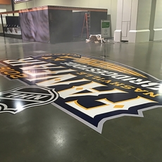 NHL All Star Floor Vinyl 2