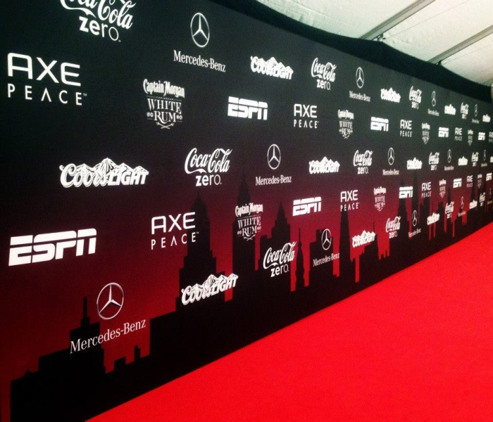 Step And Repeat And Barricades