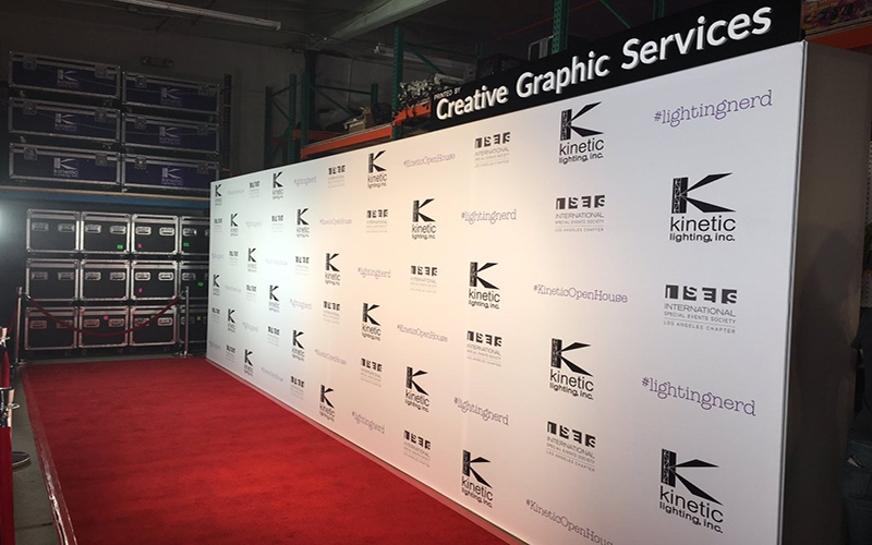 12? & Step and Repeat and Barricades