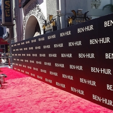 Red Carpet Ben Hur