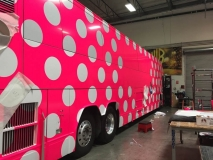 Pink Van Graphics