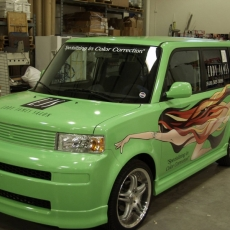 Green-Box-Car-Wrap